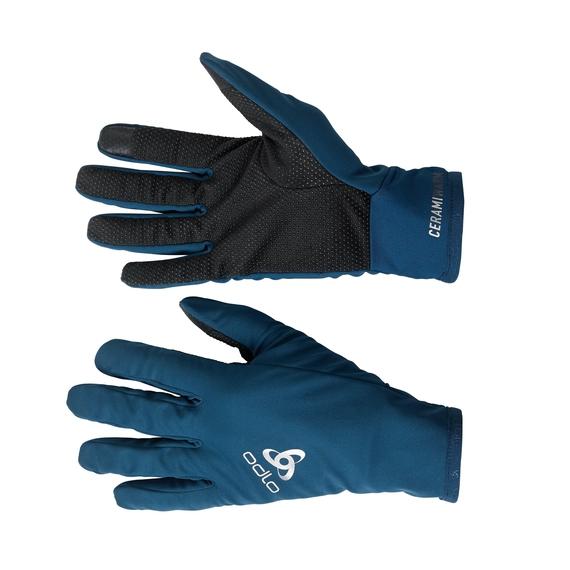 Gloves CERAMIWARM GRIP, poseidon, large