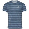 Herren CERAMICOOL BASELAYER PRINT T-Shirt, faded denim - AOP SS19, large