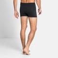 Men's PERFORMANCE WARM ECO Sports Underwear Base Layer Boxers, black - odlo graphite grey, large