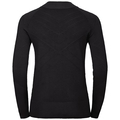 Midlayer 1/2 zip UNITY KINSHIP, black, large