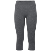 Women's PERFORMANCE WARM 3/4 Baselayer Pants, grey melange - black, large