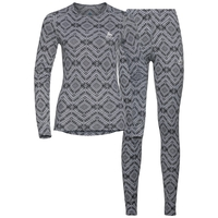 Set ACTIVE WARM Kinship, grey melange, large