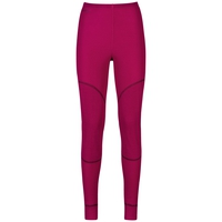 Women's ACTIVE X-WARM Base Layer Pants, sangria, large