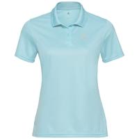 Polo shirt s/s TILDA, iced aqua, large