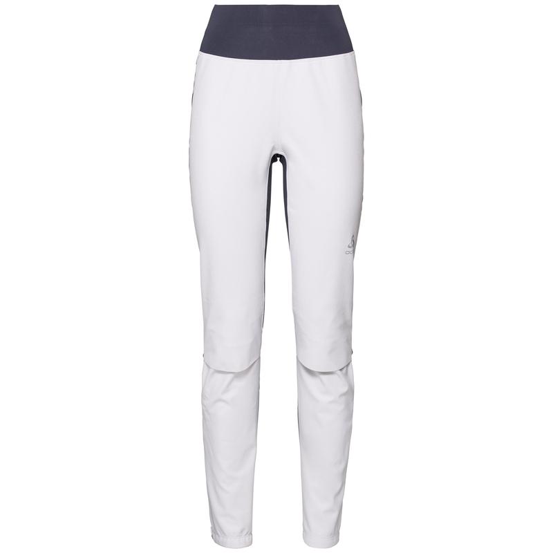 Women's AEOLUS Pants, white - odyssey gray, large