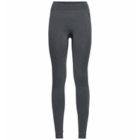 Women's PERFORMANCE WARM ECO Baselayer Pants, grey melange - black, large