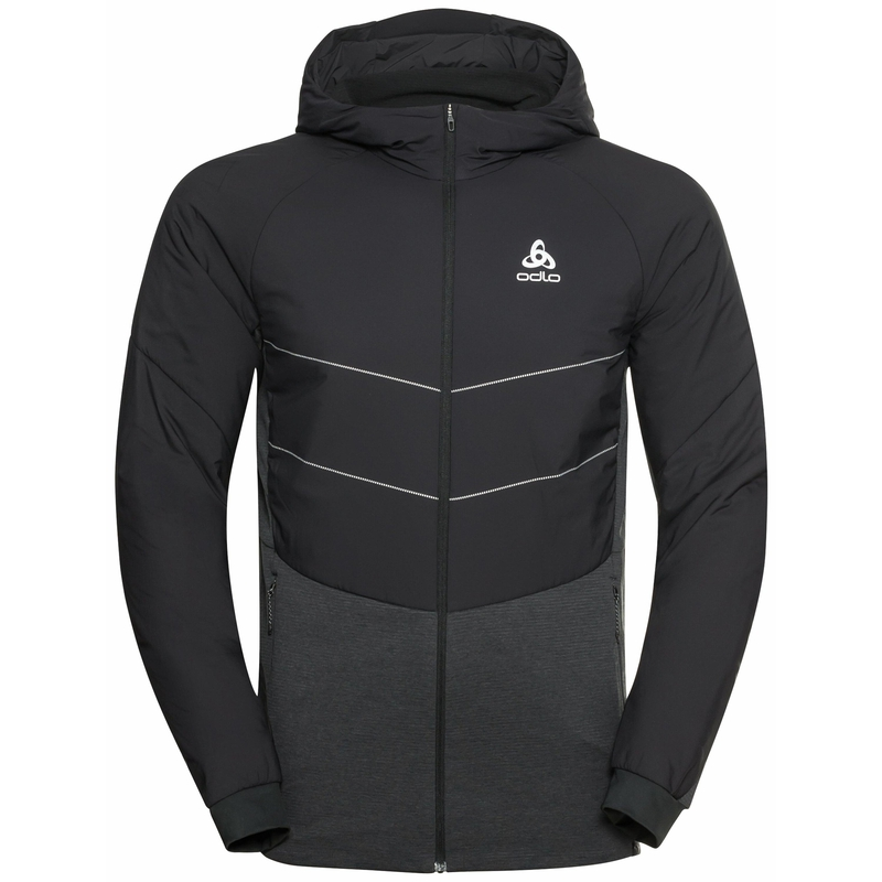 The Run Easy S-Thermic jacket, black, large