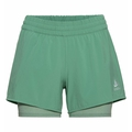 Women's MILLENNIUM PRO 2-in-1 Shorts, creme de menthe, large