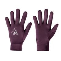 Gloves STRETCHFLEECE LINER Warm, pickled beet, large