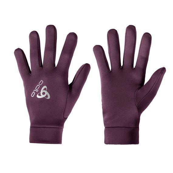 Gloves STRETCHFLEECE LINER Warm, pickled beet, large