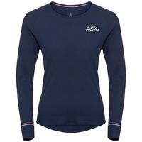 Damen ACTIVE WARM ORIGINALS Funktionsunterwäsche Langarm-Shirt, diving navy, large