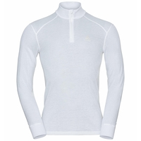 Men's ACTIVE WARM ECO Half-Zip Turtleneck Baselayer Top, white, large