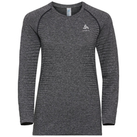 Women's SEAMLESS ELEMENT Long-Sleeve T-Shirt, grey melange, large