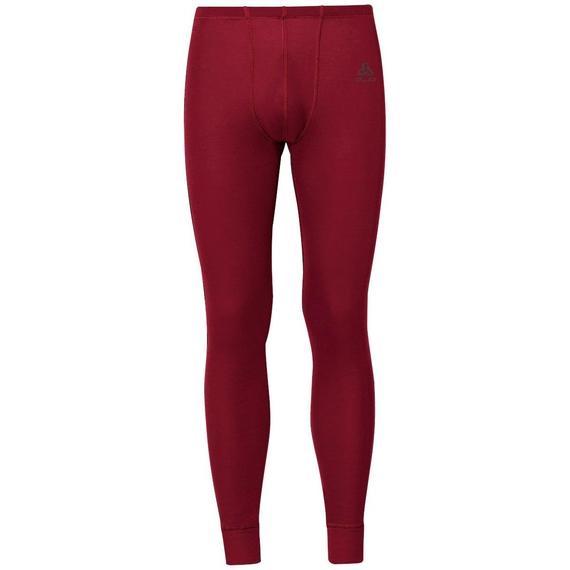 Men's ACTIVE WARM Base Layer Pants, red dahlia, large