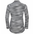 Midlayer con zip intera FLI LIGHT PRINT da donna, odlo silver grey - graphic SS21, large
