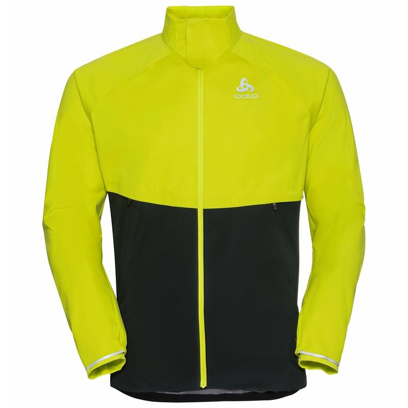 Men's ZEROWEIGHT PRO WARM Running Jacket, evening primrose - black, large