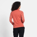 Women's CONCORD PRINT Full-Zip Mid Layer, burnt sienna melange - graphic SS21, large