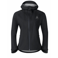 Women's AEGIS Hardshell Jacket, black, large