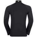 Jacket VELOCITY Light, black - odlo concrete grey, large