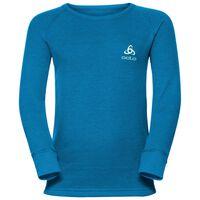 WARM KIDS Baselayer Shirt, mykonos blue, large