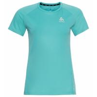 ESSENTIAL CHILL-TEC-hardloop-T-shirt voor dames, jaded, large