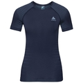 Women's PERFORMANCE LIGHT Base Layer T-Shirt, diving navy - faded denim, large