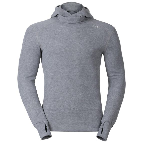 Shirt l/s with Facemask ACTIVE ORIGINALS Warm, grey melange, large