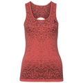 BL TOP Crew neck Singlet BLACKCOMB, dubarry - fiery coral, large