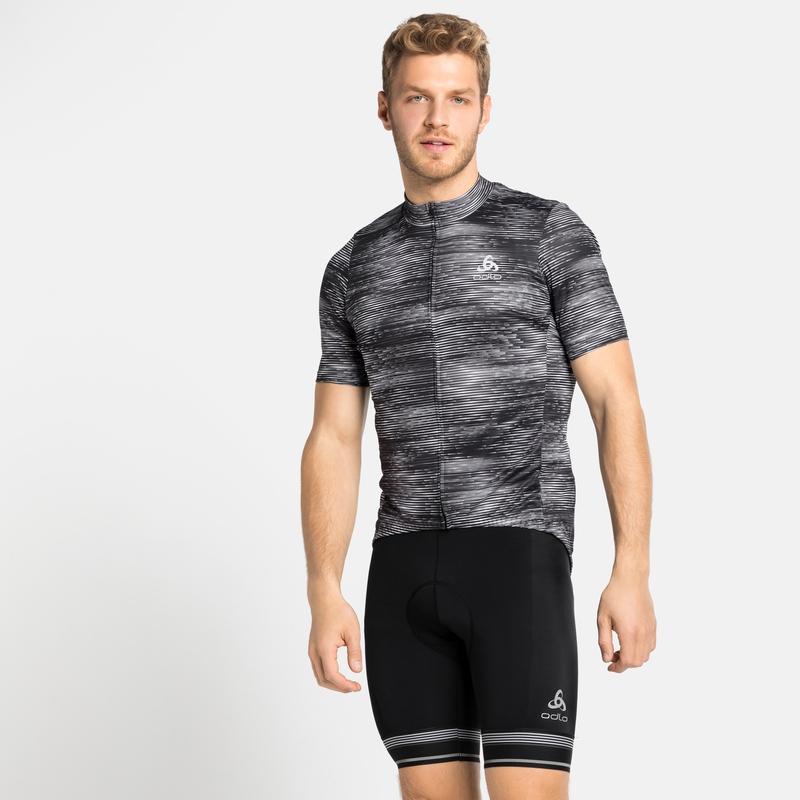 ELEMENT-fietstrui met korte mouwen voor heren, black - graphic SS21, large