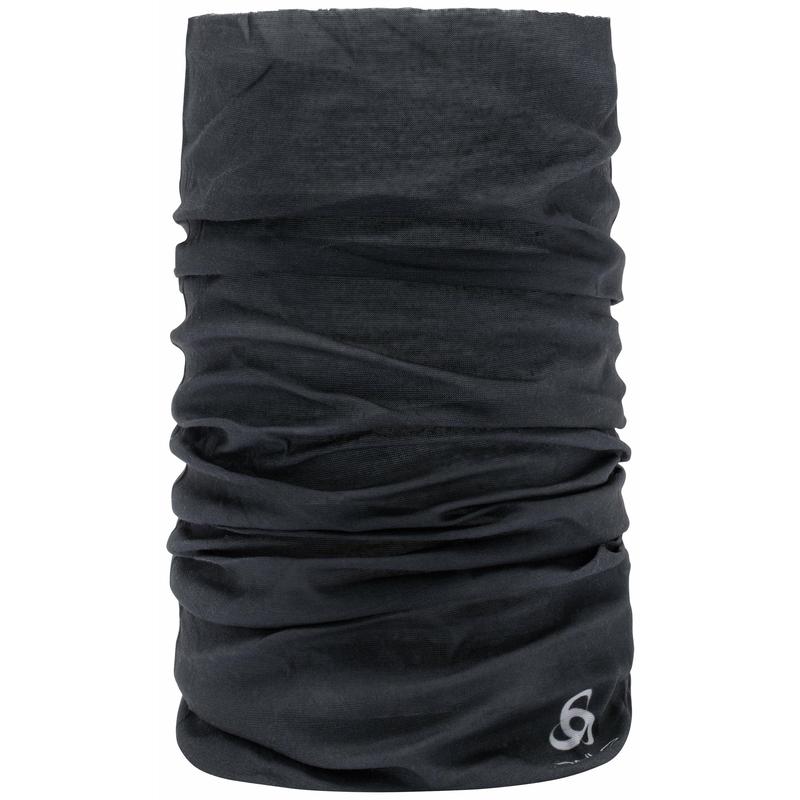BEDRUKTE tubesjaal, black, large