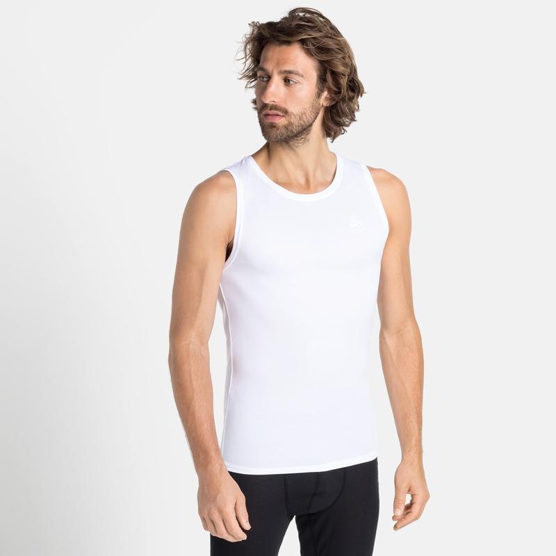 Herren ACTIVE F-DRY LIGHT Base Layer Unterhemd, white, large