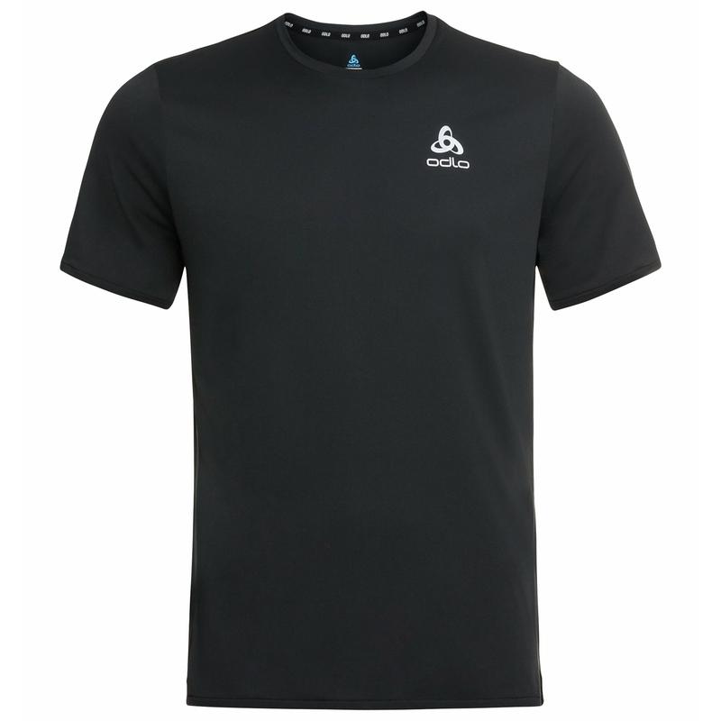 Herren ZEROWEIGHT CHILL-TEC Laufshirt, black, large