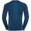 Top intimo a manica lunga PERFORMANCE WARM ECO da uomo, estate blue - atomic blue, large