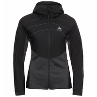 Women's MILLENNIUM S-THERMIC Running Jacket, black, large