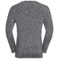 T-shirt l/s SILLIAN, odlo concrete grey space dye, large