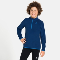 Midlayer con 1/2 zip ROYALE KIDS per bambini, estate blue, large