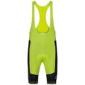 Tights short suspenders CERAMICOOL X-LIGHT, black - acid lime, large