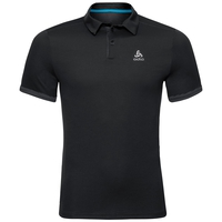 Polo s/s NIKKO F-DRY, black, large