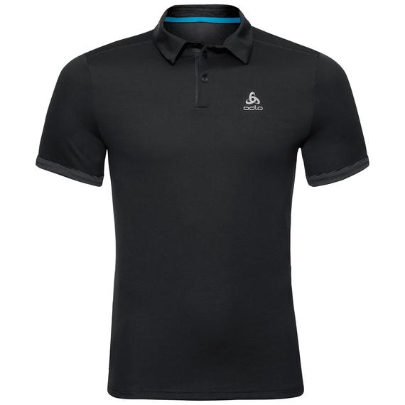 Polo s/s NIKKO F-DRY, black, large