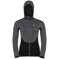 Women's SPOOR Midlayer Hoody, black, large
