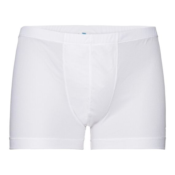 SUW Bottom Boxer ACTIVE Cubic LIGHT, white - snow white, large