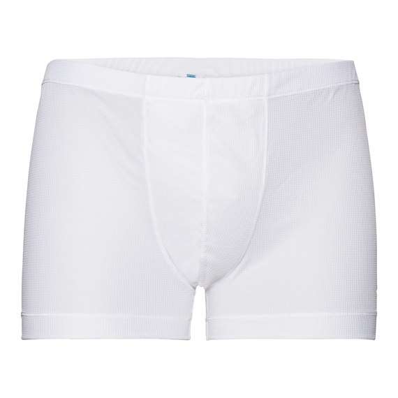 SUW Bottom Boxer ACTIVE Cubic LIGHT, white - snow white, large