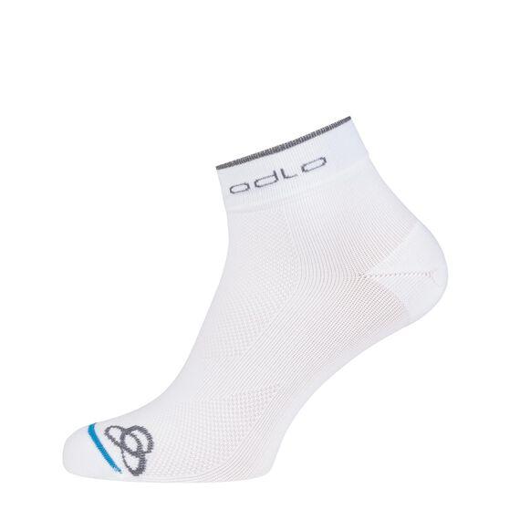 RUNNING BASIC socks short (2 Pack), white, large