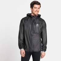 Men's ZEROWEIGHT DUAL DRY Waterproof Jacket, black, large