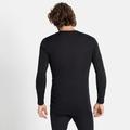 ACTIVE WARM ECO-basislaagtop met lange mouwen voor heren, black, large