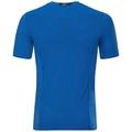 BL Top Crew neck s/s CERAMICOOL pro, energy blue, large