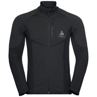 Chaqueta VELOCITY LIGHT, black - odlo concrete grey, large