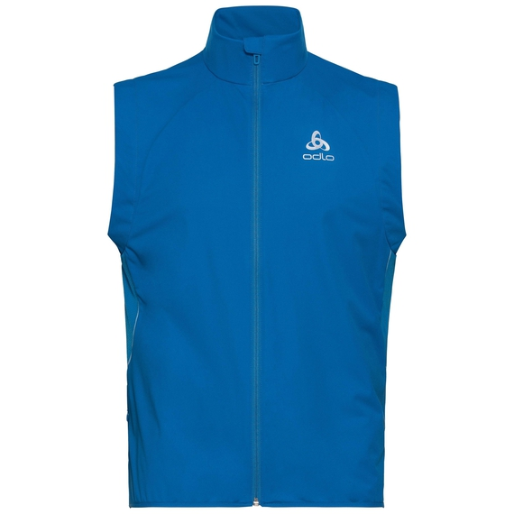 Men's ZEROWEIGHT WINDPROOF WARM Vest, directoire blue, large