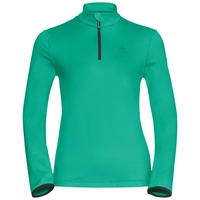 Midlayer 1/2 zip ALAGNA, mint leaf, large