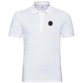 Polo shirt s/s ROAR, white, large